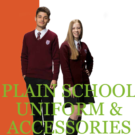 PLAIN SCHOOL UNIFORM & ACCESSORIES